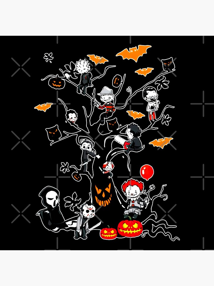 Horror Mashups: Horror Kids Tree by EnforcerDesigns