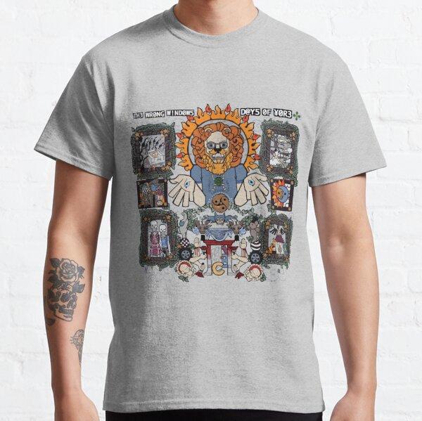 "The Wrong Windows ""Days of Yore"" Vinyl Cover Painting ""The Lion of Los Feliz"" by Jennifer J. Jelenski Classic T-Shirt"
