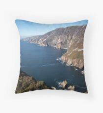 Stunning Slieve League Throw Pillow