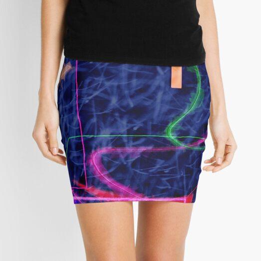 Kandinsky, fuzzy logic and chaos theory Mini Skirt
