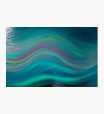 Northern Lights - Oil Photographic Print