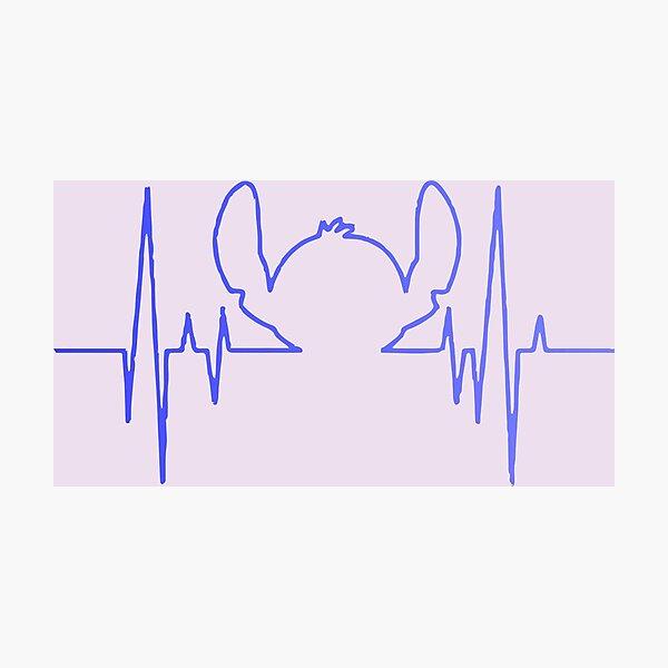 Stitch Beat Lámina fotográfica