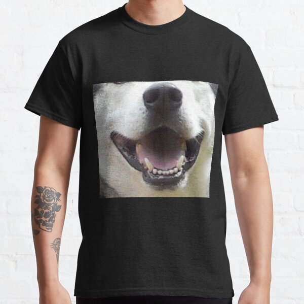 Hundeschnauze Husky Schnauze Nase Maul Hund Classic T-Shirt