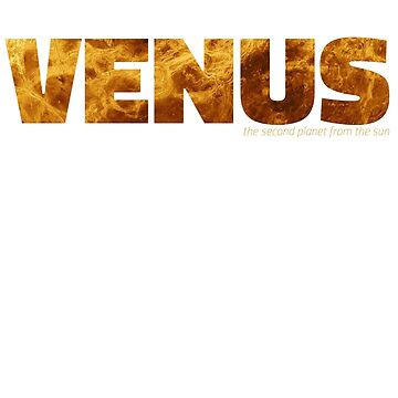 Venus - the second planet from the sun by siempre