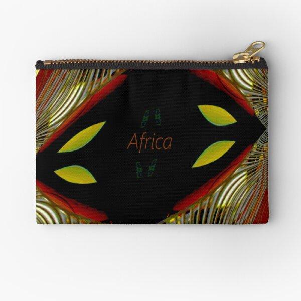 Africa Zipper Pouch