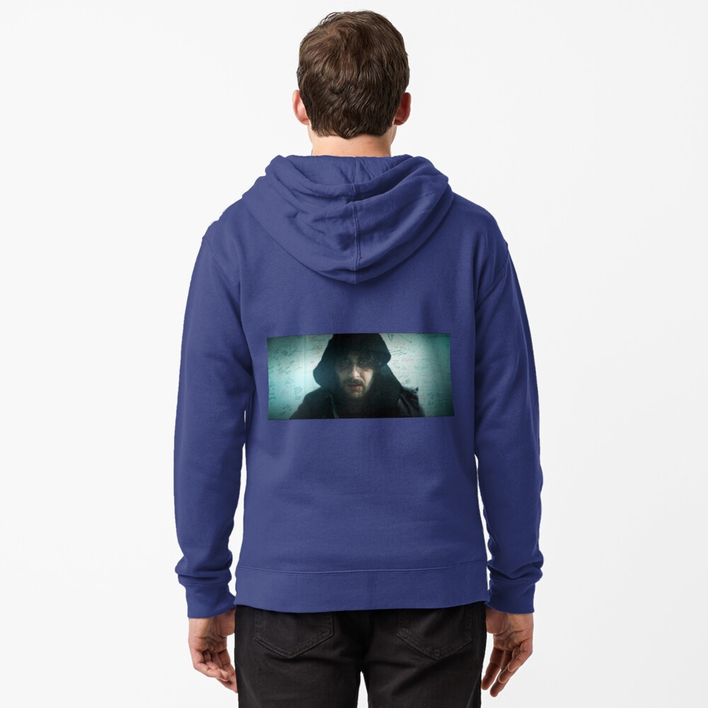 James Down Not Out Zipped Hoodie