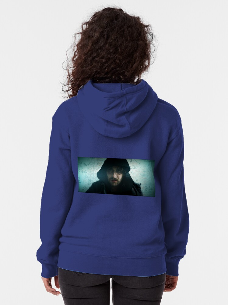 Alternate view of James Down Not Out Zipped Hoodie