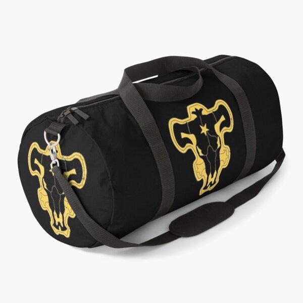 Black Bull Squad Worn Logo - Black Clover Duffle Bag