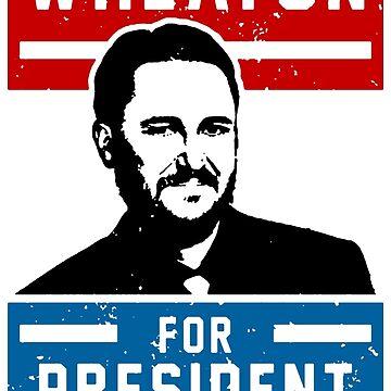 President Wheaton by deadbirdart