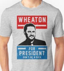 President Wheaton Unisex T-Shirt