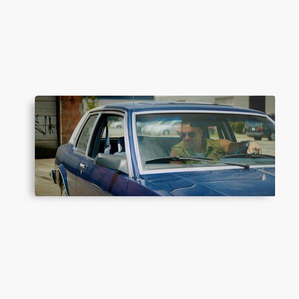 VOLITION - Aleks Paunovic as Terry (behind the wheel) Metal Print