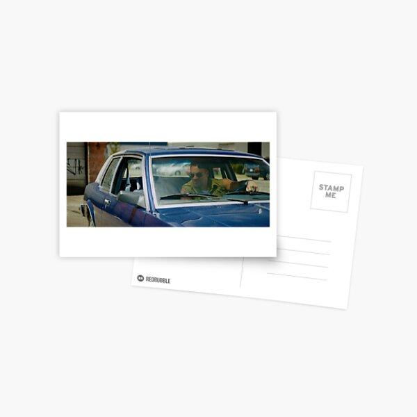 VOLITION - Aleks Paunovic as Terry (behind the wheel) Postcard