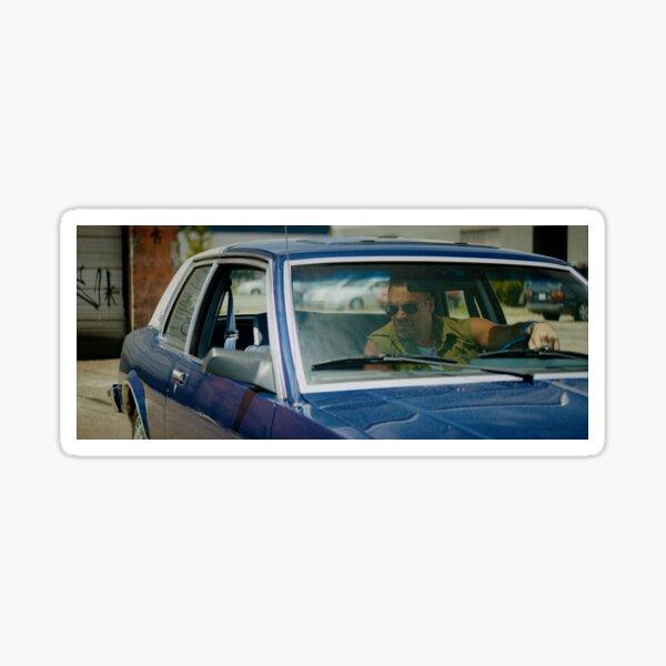 VOLITION - Aleks Paunovic as Terry (behind the wheel) Sticker