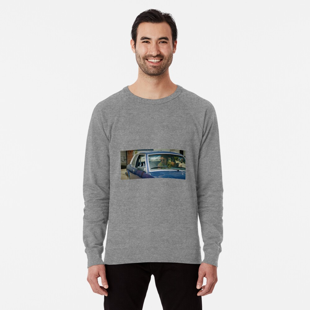VOLITION - Aleks Paunovic as Terry (behind the wheel) Lightweight Sweatshirt