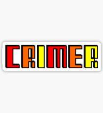 CRIMER 2 Sticker