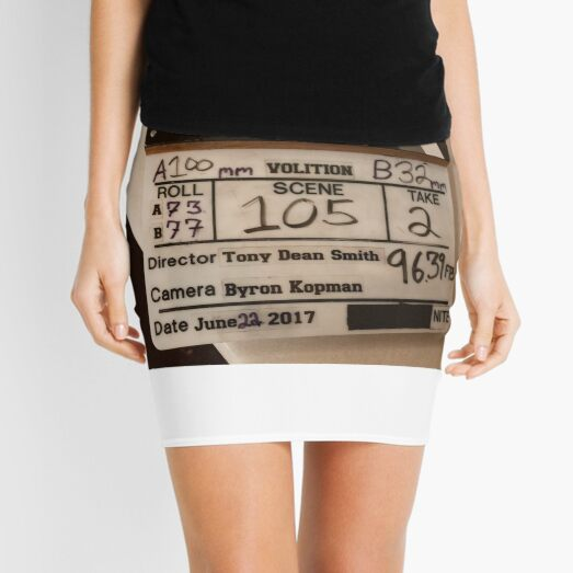 VOLITION - Behind the Scenes Mini Skirt