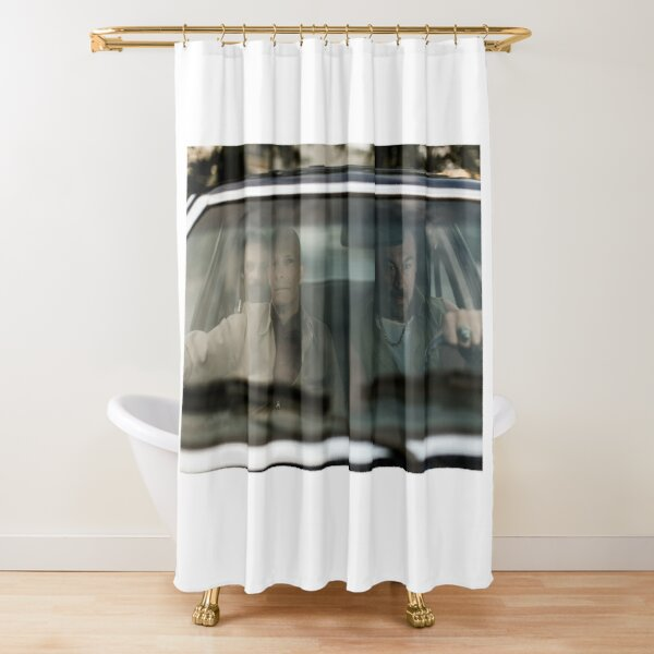 VOLITION - The Boys in the Car Shower Curtain