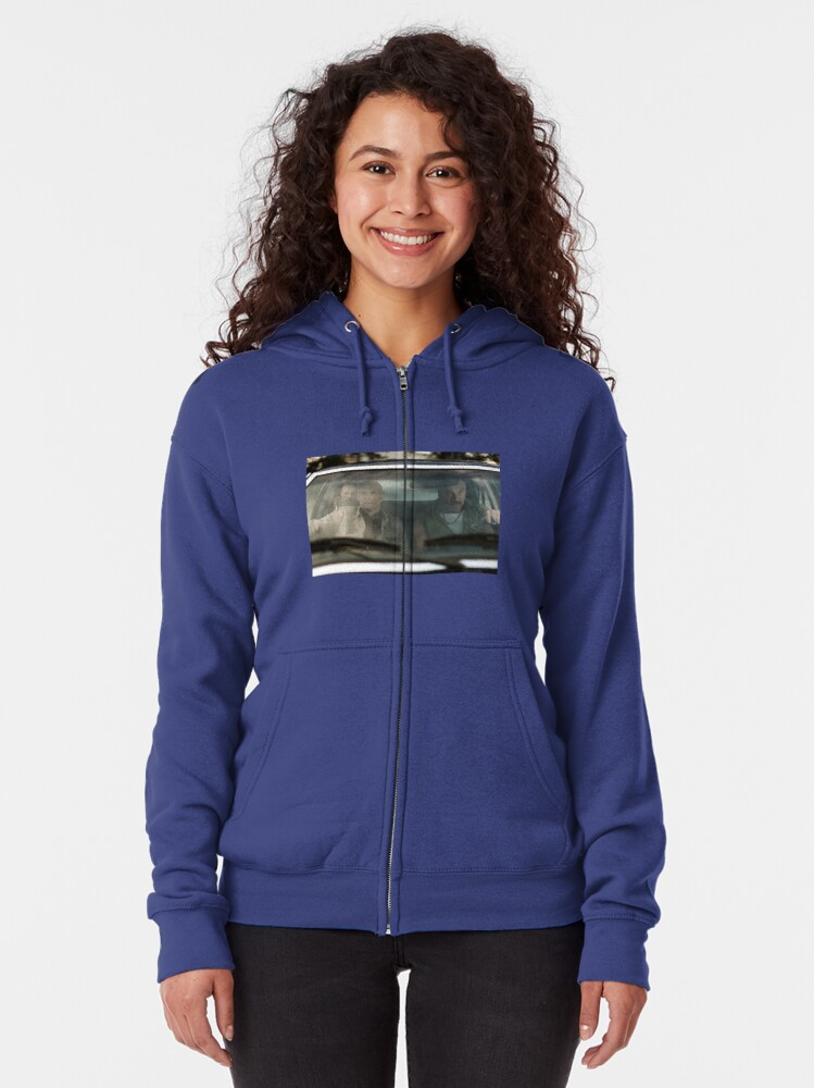 Alternate view of VOLITION - The Boys in the Car Zipped Hoodie