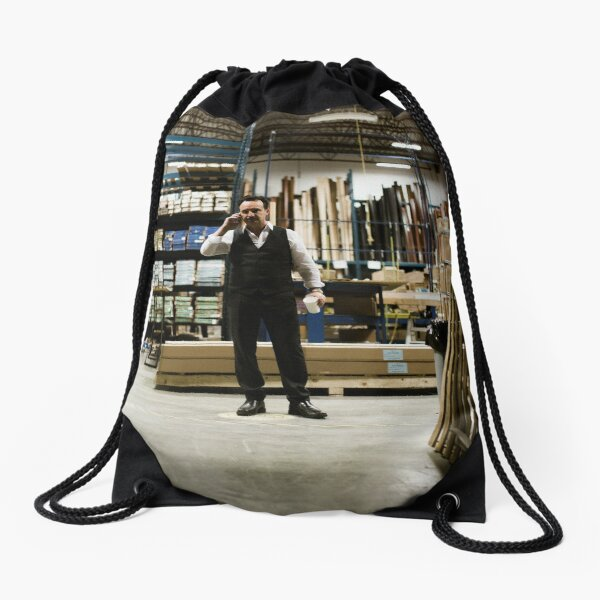 VOLITION - John Cassini as Ray Drawstring Bag