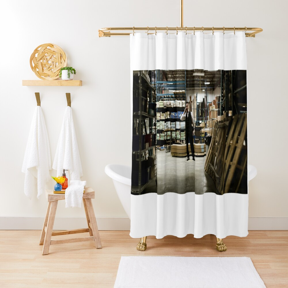 VOLITION - John Cassini as Ray Shower Curtain