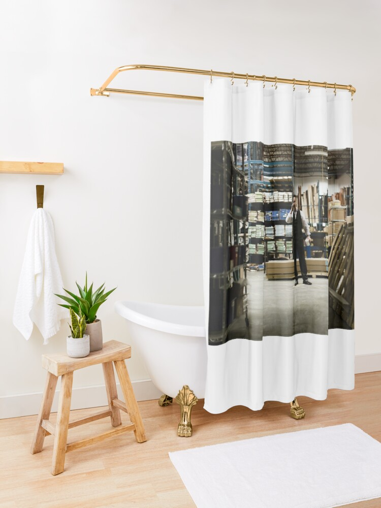 Alternate view of VOLITION - John Cassini as Ray Shower Curtain