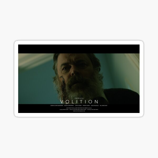 VOLITION - Elliot Sticker