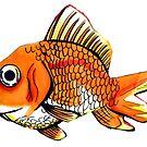 Goldfishy by xedouteyes