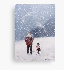 Remembering Christmases Past Metal Print