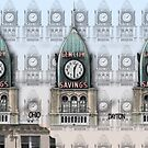 Gem City Clock Mug - Color by steeber