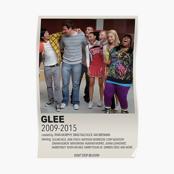 glee poster Poster