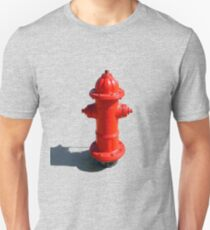 RED FIRE HYDRANT Unisex T-Shirt