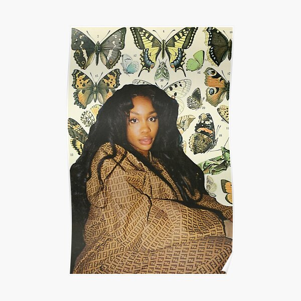 sza butterfly Poster