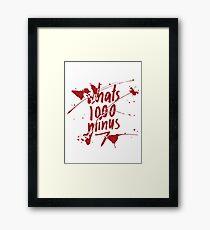 1000-7 Framed Print
