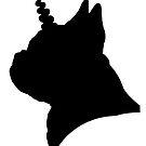 Mythical French Bulldogicorn!  by stellarmule