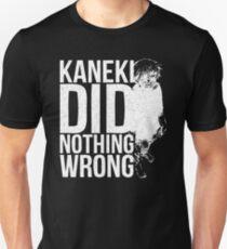Kaneki Ken! (white) T-Shirt