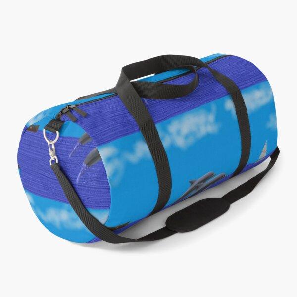 Dolphin Art Duffle Bag