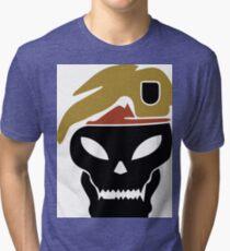 Rambo skull Tri-blend T-Shirt