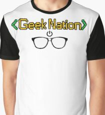 Geek Nation Graphic T-Shirt