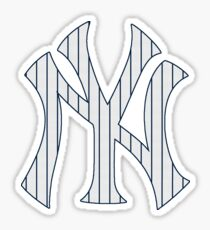 New York Yankees Pinstripes Logo Sticker