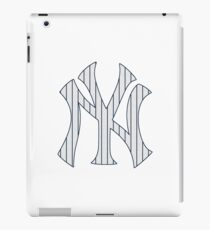 New York Yankees Pinstripes Logo iPad Case/Skin