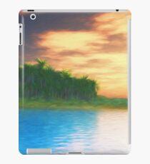 Vinilo o funda para iPad Island Sunset