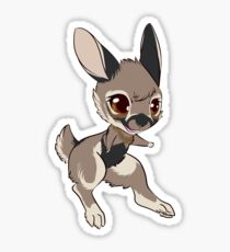 Zesty the Rabbit Stickers Sticker