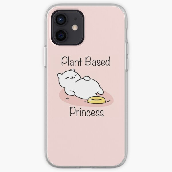 Plant Based Tubbs Princess iPhone Soft Case