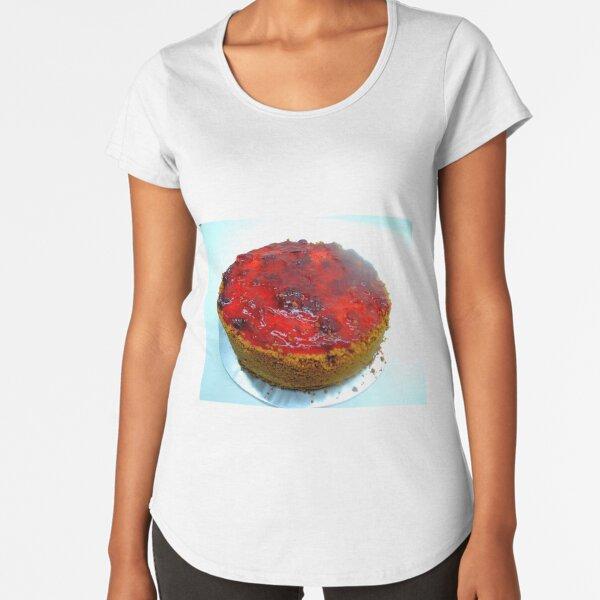Strawberry Cheesecake Premium Scoop T-Shirt