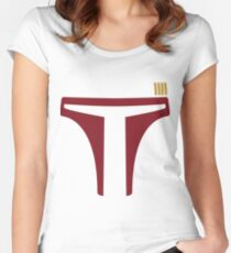Boba Fett Women's Fitted Scoop T-Shirt