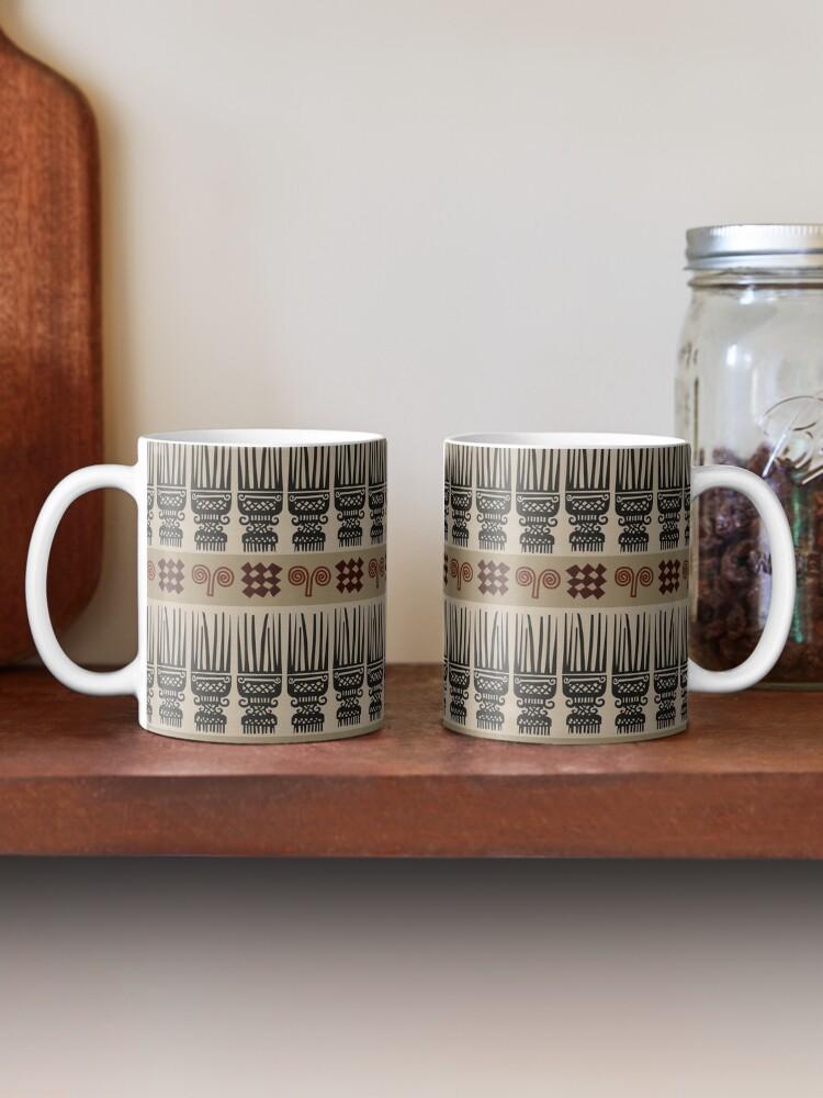 Alternate view of African Fabric Mug