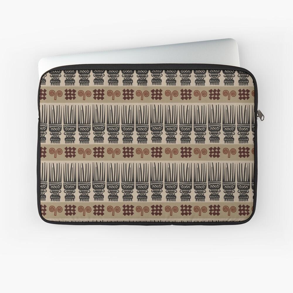 African Fabric Laptop Sleeve