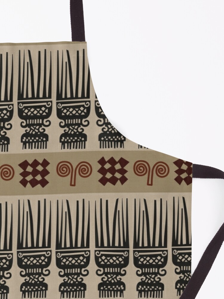 Alternate view of African Fabric Apron