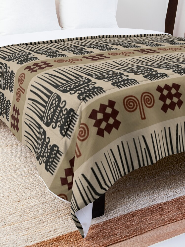 Alternate view of African Fabric Comforter