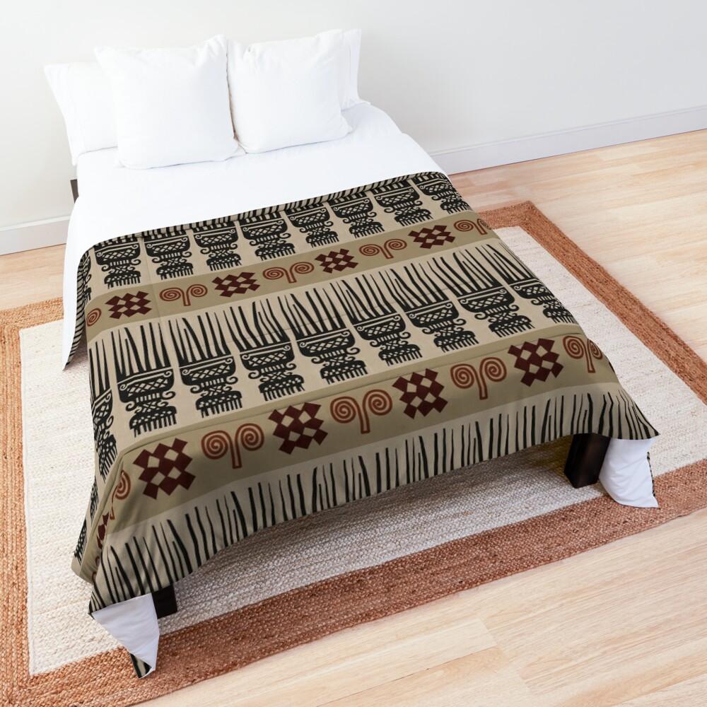 African Fabric Comforter